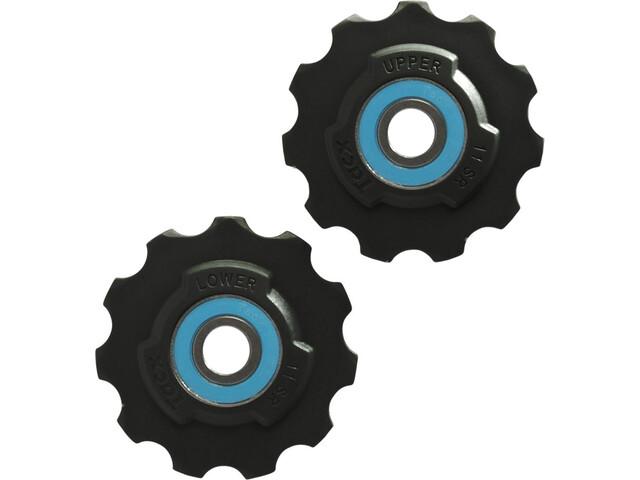 Tacx Jockey wheels Ceramic/PTFE Si3N4 11 tenner SRAM Race